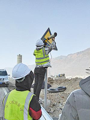 金阳县城至通阳大桥段改建工程 A标段完成交工验收质量检测