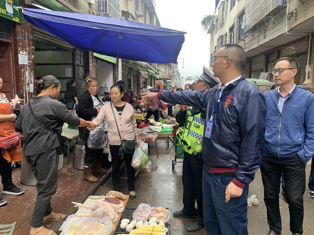 德昌县开展农贸市场综合整治