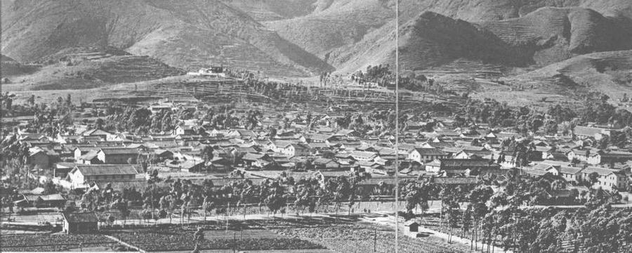 会理县城三十年前