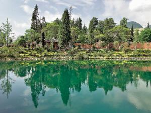 凉山越西:中所水观音 何必丝与竹 山水有清音
